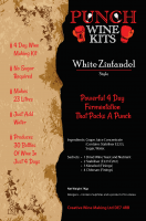 Punch White Zinfandel 30 Bottle Wine Kit