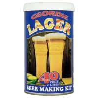 Geordie Lager 40 Pint Beer Kit