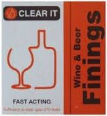Youngs CLEAR IT Wine And Beer Finnings 135/270 Ltrs