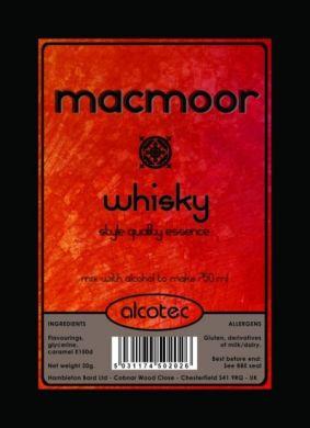 Alcotec MacMoor Whisky