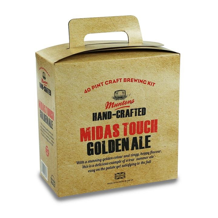 Muntons Hand Crafted Midas Touch Golden Ale 3.6kg