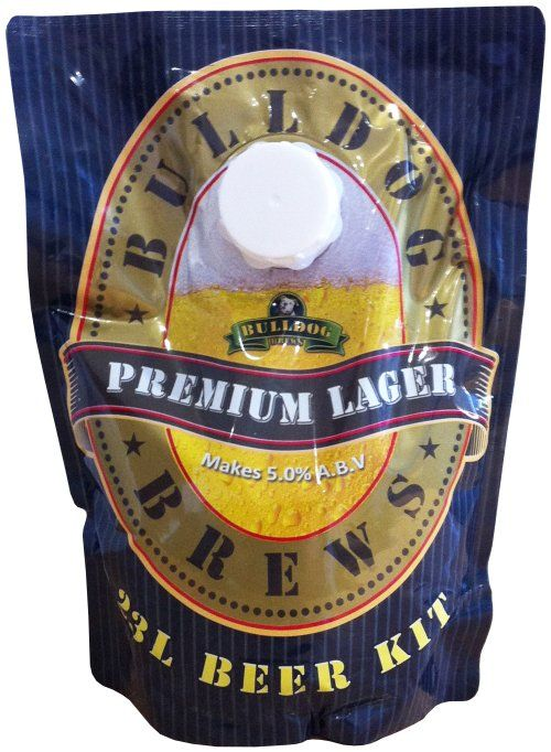 Bulldog Brews Premium Lager