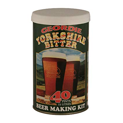 Geordie Yorkshire Bitter 40 Pint Beer Kit