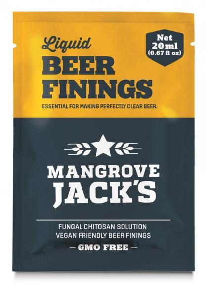 Mangrove Jacks Liquid Beer Finings Sachet 20G