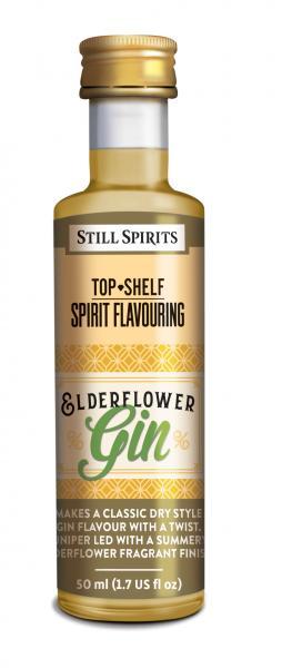 Still Spirits Top Shelf Elderflower Gin 50ml