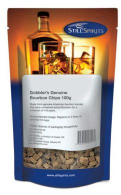 Still Spirits Gobblers Genuine Bourbon Chips 100g