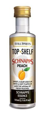 Still Spirits Top Shelf Peach Schnapps 50ml