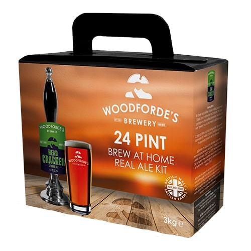 Woodfordes Norfolk Ale Headcracker 24 Pint Beer Kit