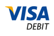 Accepted Card: Visa Debit