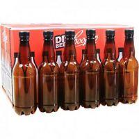 Coopers PET Plastic Amber Beer Bottles 500ml With Screw Caps