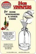 Harris Filter Vin Papers (24cm Dia)
