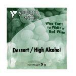 Youngs Dessert/High Alcohol Wine Yeast Sachet 5g