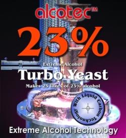 Alcotec 23% Turbo Yeast