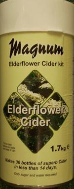 Magnum Elderflower Cider 40 Pints