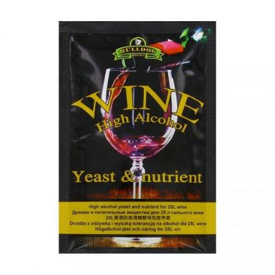 Bulldog Wine High Alcohol Yeast & Nutrient