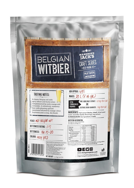Mangrove Jacks Belgian WITBIER (Limited Edition)