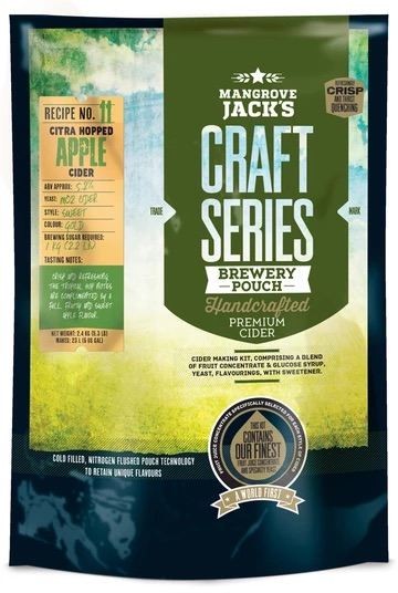Mangrove Jacks Hopped Apple Cider 2.4kg