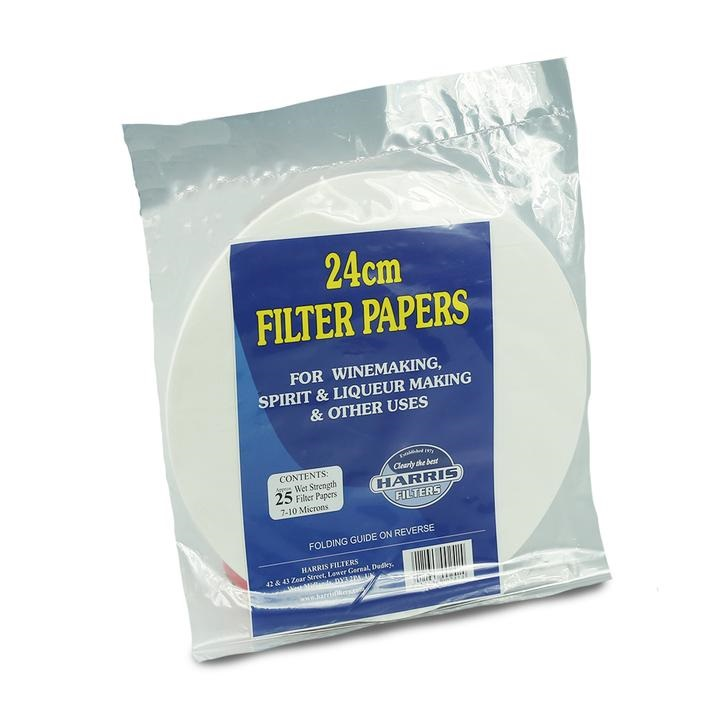 Harris Filter Vin Papers (24cm Dia)