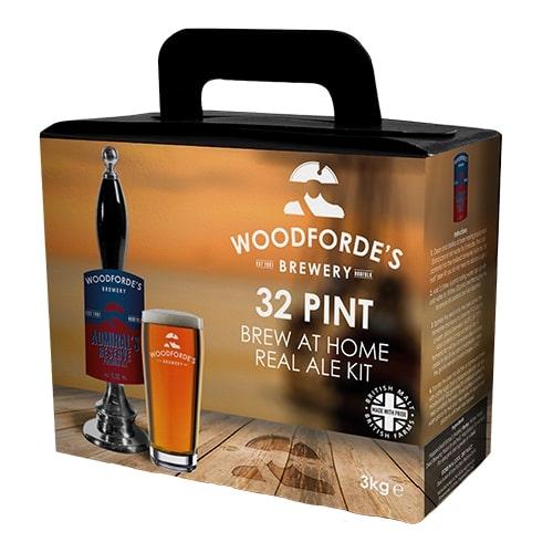 Woodfordes Norfolk Ale Admirals Reserve 32 Pint Beer Kit