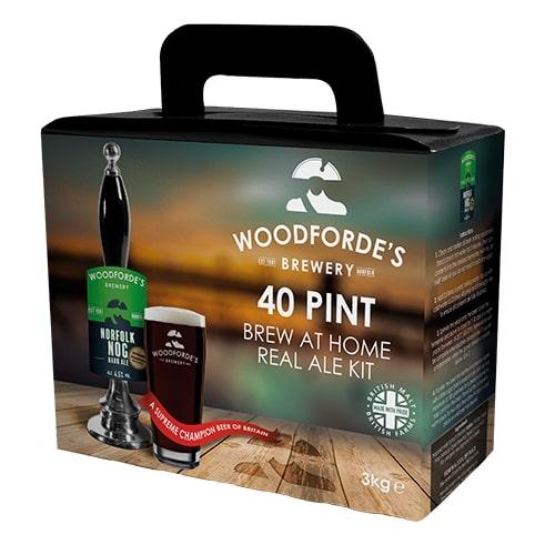Woodfordes Norfolk Ale Norfolk Nog 40 Pint Beer Kit