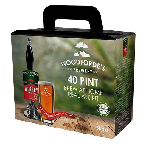 Woodfordes Norfolk Ale Wherry 40 Pint Beer Kit