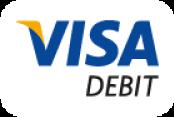 Accepted Card: Visa Debit